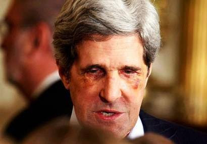 John Kerry Almost Beaten Up in Rome