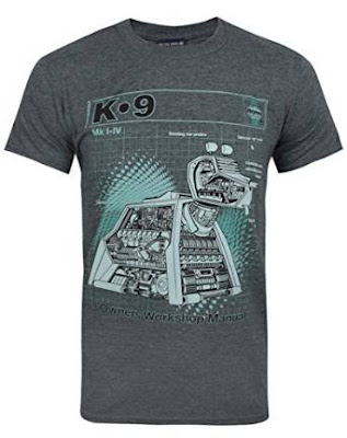 K-9 Doctor Who Haynes Manual T-shirt