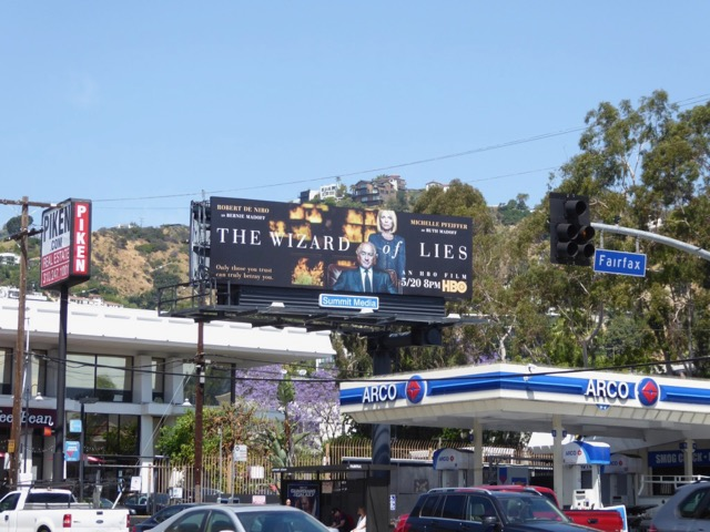Wizard of Lies billboard