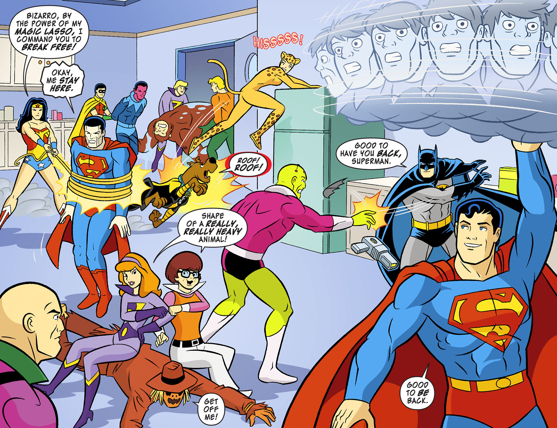 Read online Scooby-Doo! Team-Up comic -  Issue #12 - 19