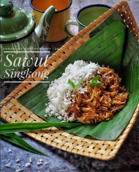 Resep Sawut Singkong | Jajanan Pasar Tradisional Warisan Kuliner Nusantara