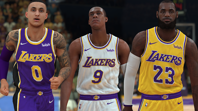 NBA 2K19 Los Angeles Lakers Jersey