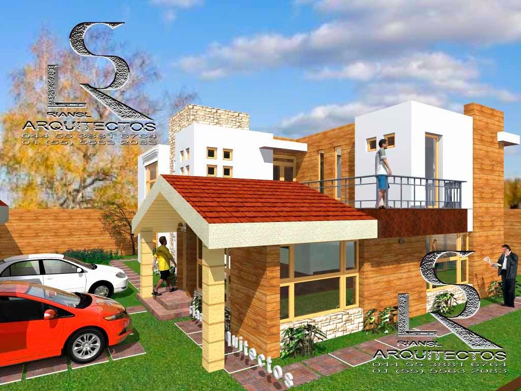 Proyectos virtuales dise o de casa habitaci n en 3d arq for Proyectos de casas