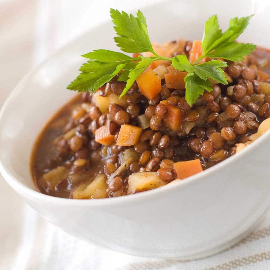 Yeşil mercimek yemeği ve faydaları,yeşil mercimek yemeğinin yapılışı.