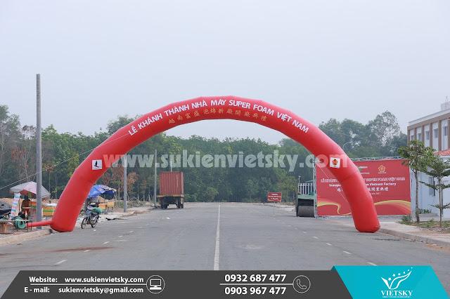 Khánh Thành, Công ty Tổ chức lễ khánh thành nhà máy Super Foam