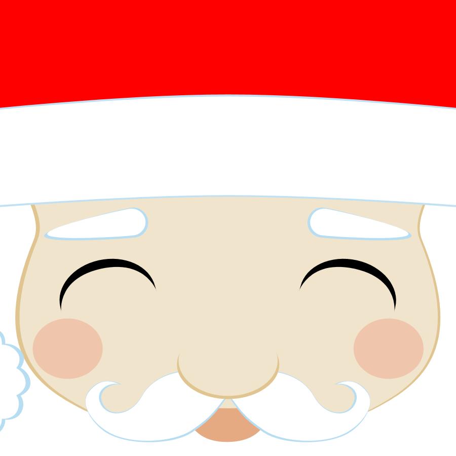 santa face template don t eat the paste santa claus printable boxes