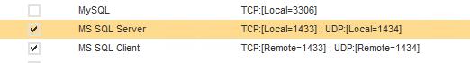 SEP Firewall Docker Rule detail