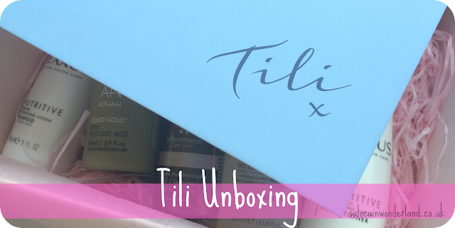 tili subscription box review unboxing