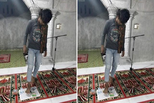 Capry Nanda: Saya Cuma Bercanda, Belum Sampai Injak Al Quran Beneran