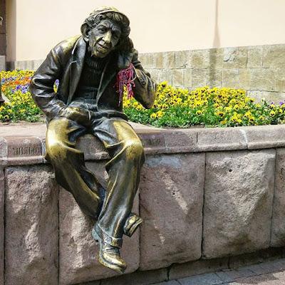 Estatua en Plovdiv, Bulgaria