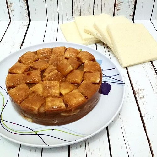 Pudding Nutrijell Capuccino Roti