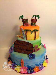 Best Hawaiian Cake Topper