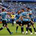 Half-time score Uruguay 2 – 0 Russia : Fifa World Cup 2018