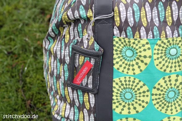 stitchydoo: Taschenspieler 3 Reisetasche mit Kofferanhänger