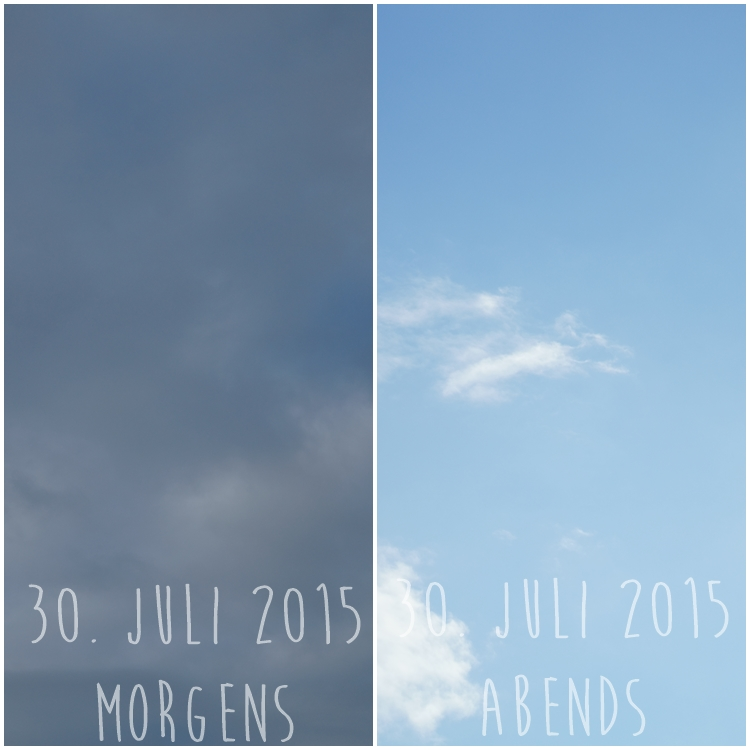 Blog & Fotografie by it's me! - Himmel am 30.07.2015