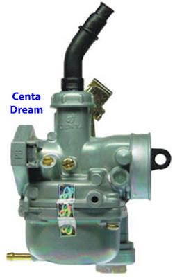 Bộ chế hòa khí - Bình xăng con CENTA 100 - Dream khắc phục xe hao xăng