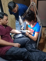 Tattoo Training Class, Tattoo making classes, tattoo training