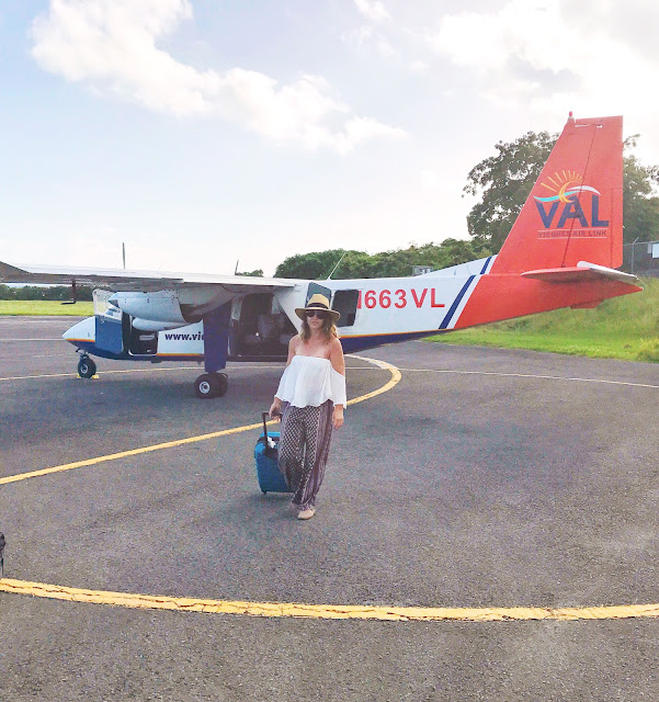 Vieques Air Link - Travel Blogger - Kelsey Social