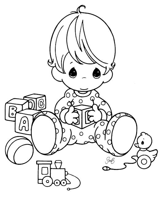 Gambar Mewarnai Bayi - 8