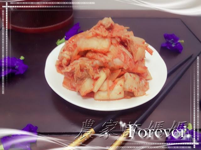 很夢幻韓國泡菜自製-農家許媽媽
