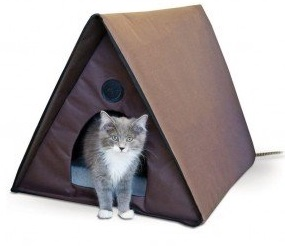 Heated Cat House Healthiest of Pets