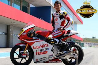 Pembalap Asal Indonesia Dima Ekky