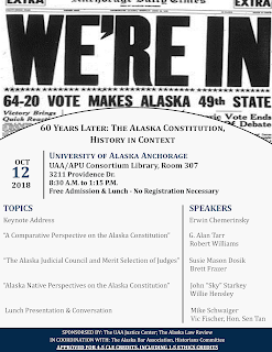 60 Years Later: The Alaska Constitution, History in Context
