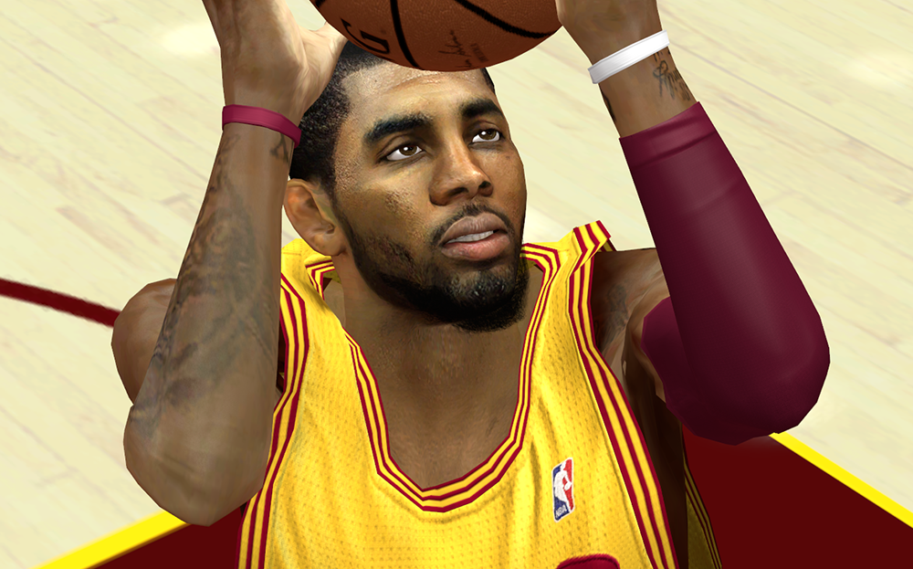 Kyrie Irving Face NBA2K