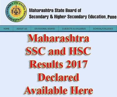 Mah Result SSC 2017
