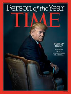 Donald J. Trump named Time's person of the year
