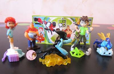 Ben 10 surprise toys