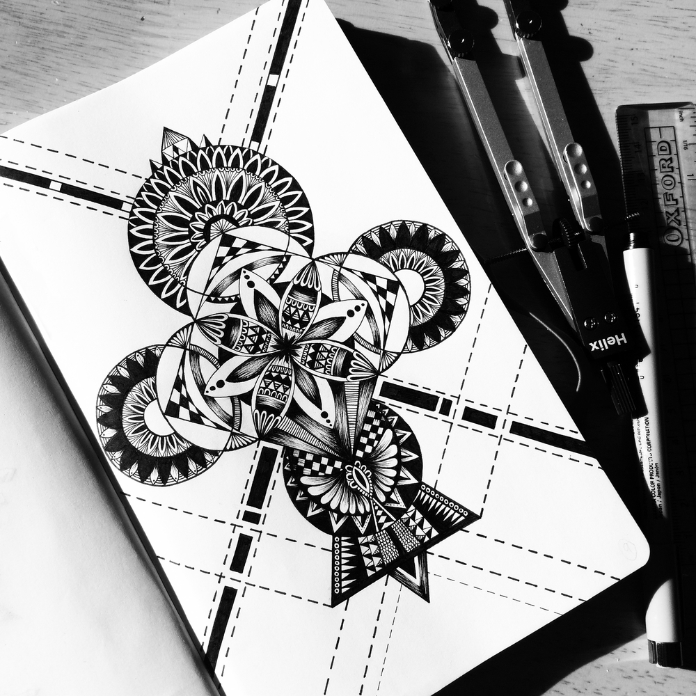 01-Geometry-Homework-Pavneet-SembhiSelf-taught-Artist-Creates-Intricate-and-Detailed-Drawings-www-designstack-co