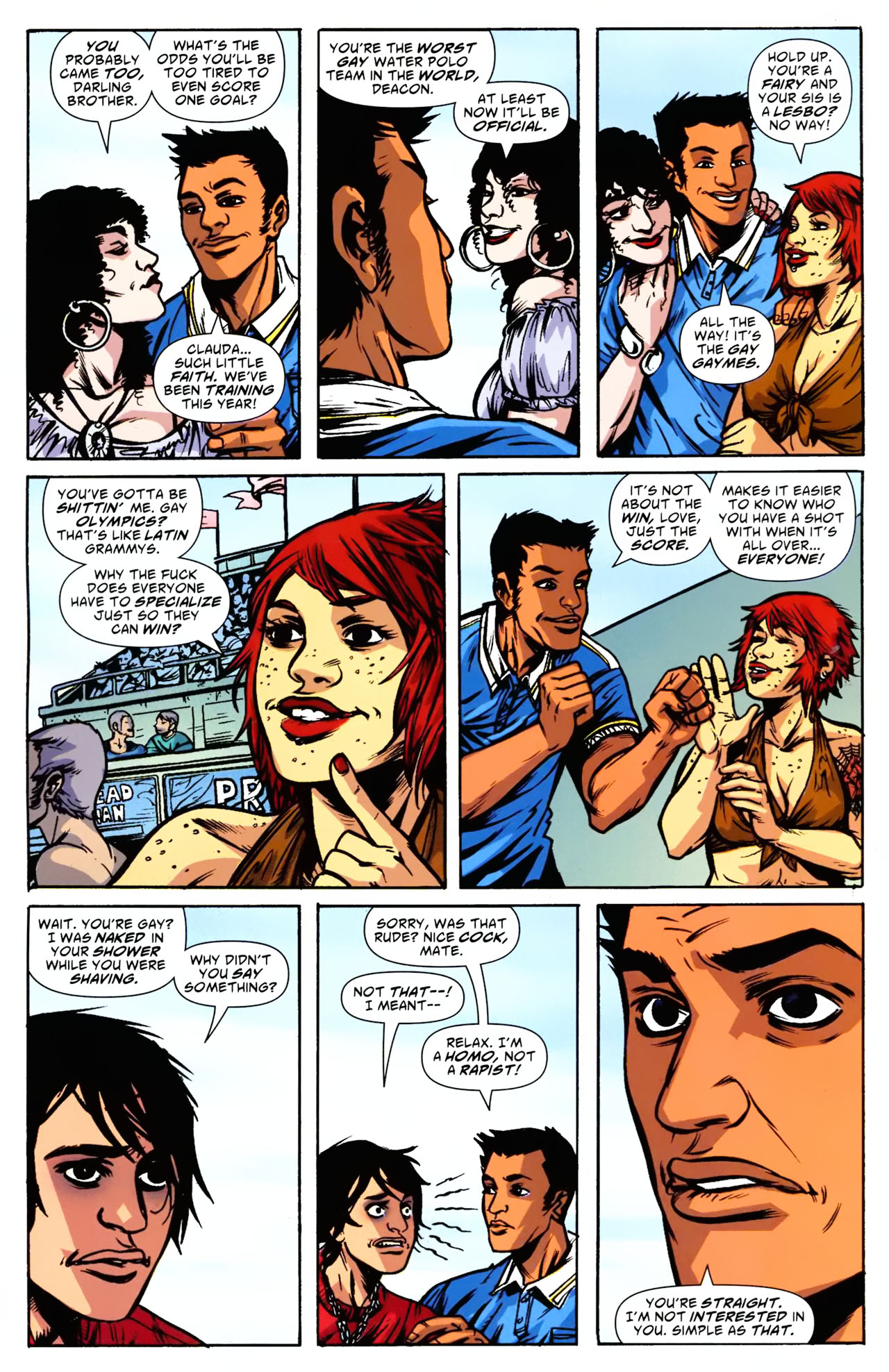 Read online American Virgin comic -  Issue #8 - 21