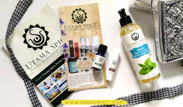 Review Utama Spice : Liquid Soap, Essential Oil dan Lip Balm