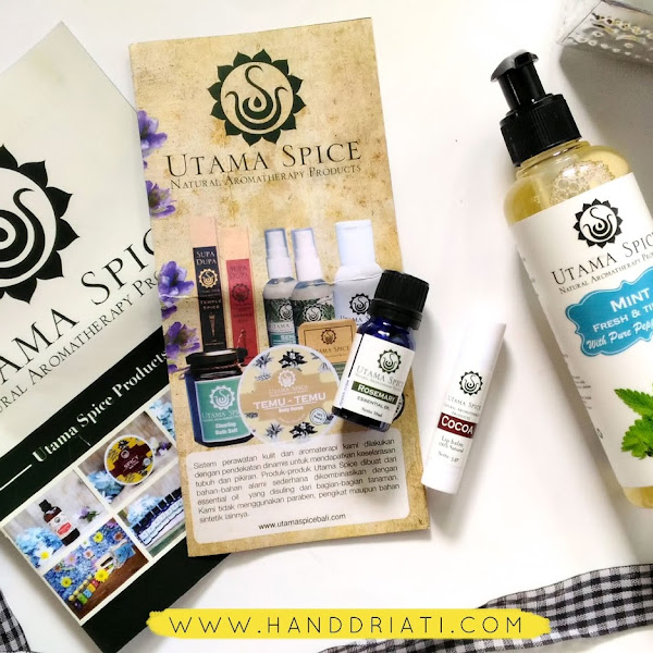 Review Utama Spice : Liquid Soap, Essential Oil dan Lip Balm
