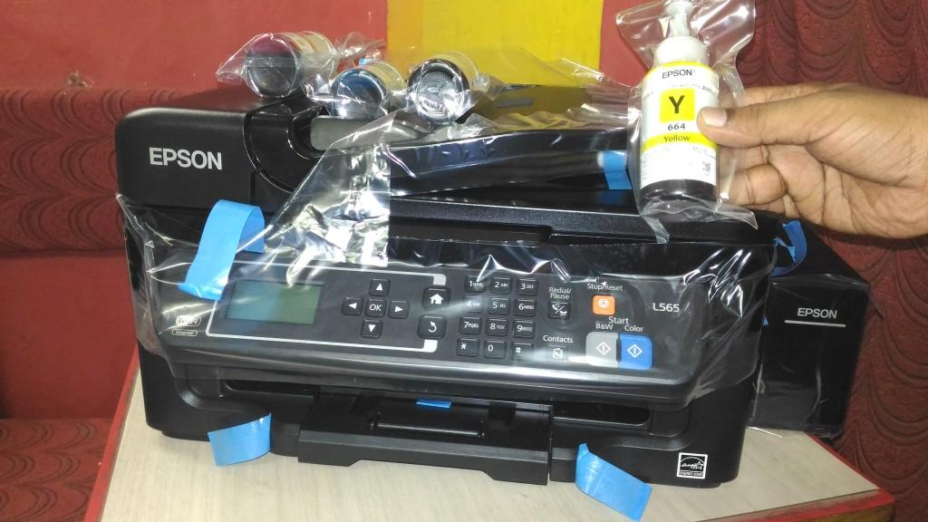 Learn New Things: Epson L565 Ink Tank Multifunction Inkjet