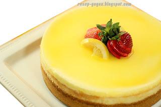 Resep Kue Lemon Cheese Cake