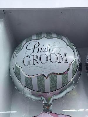 Balon Foil Bride Groom / Foil Mempelai