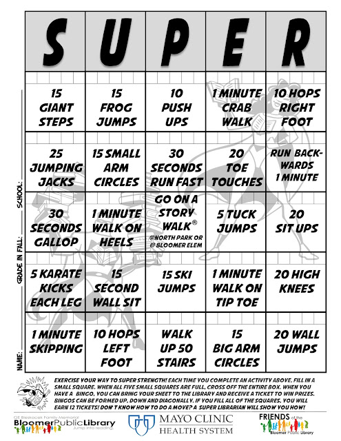 Exercise BINGO