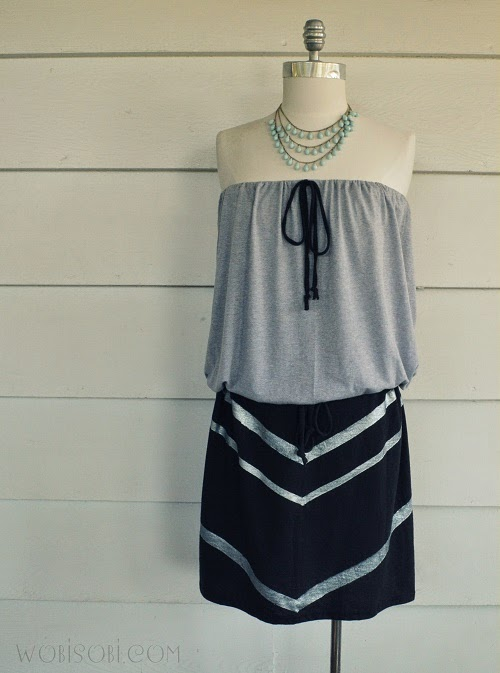 Wobisobi 6 easy summer dress diy 39 s for Easy to make t shirt dress
