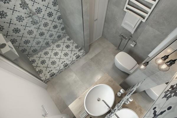 Otthon és Dekor: Inspiráló szürke fürdőszoba