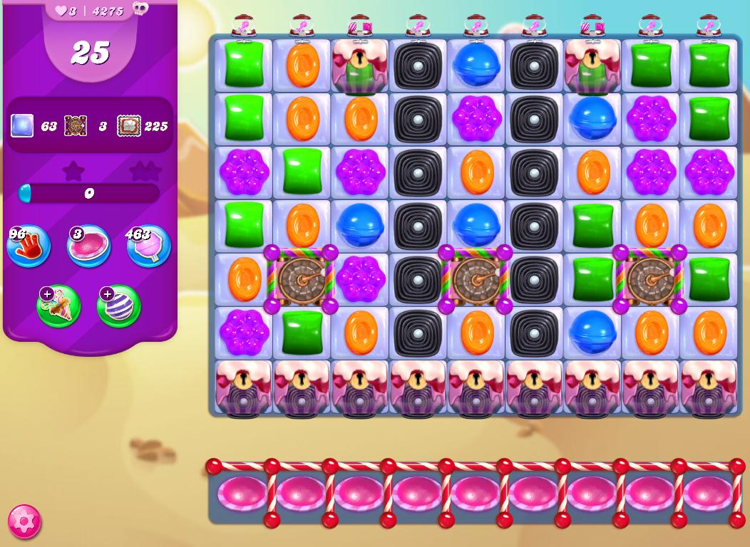 Candy Crush Saga level 4275