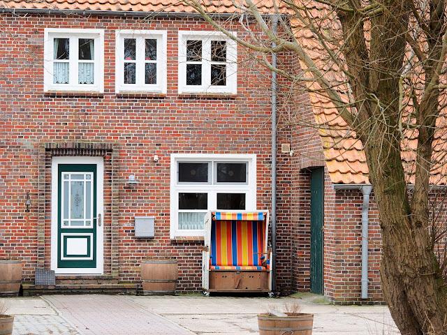 Langeoog, Haus, Strandkorb