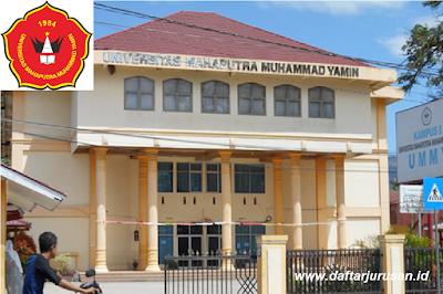Daftar Fakultas dan Program Studi UMMY Universitas Mahaputra Muhammad Yamin