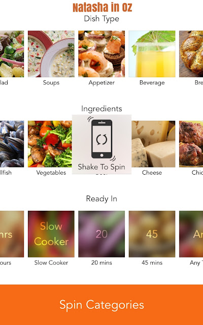 #DinnerSpinner app review and a recipe for Panzanella Salad