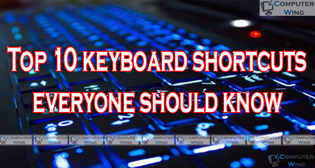 10 Quick Tips About Keyboard Shortcuts Everyone Should Know