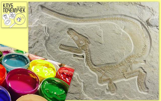 Какого цвета были динозавры. Клуб почемучек