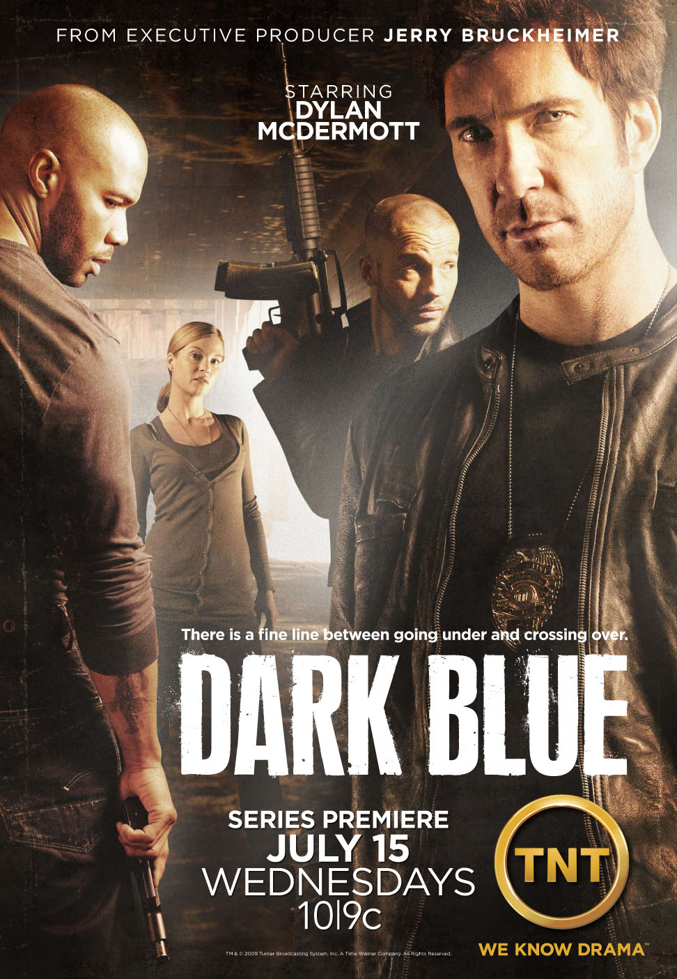 Dark Blue มือปราบ ห่าม ดิบ เถื่อน [HD][พากย์ไทย]