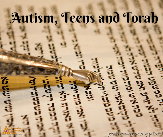 Autism, Teens and Torah; Removing the Stumbling Block