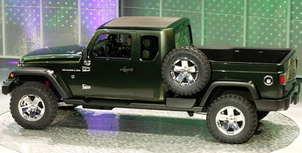 2017 Jeep Gladiator Exterior